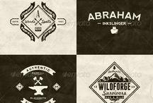 логотип и заголовки