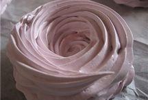 Безе Десерты Торты Крем