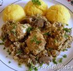 Culinaria - Mancaruri cu carne