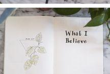 handlettering dagboek