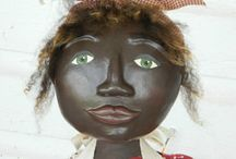 Primitive Dolls with Clay