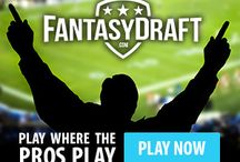 FantasyDraft Promo Code / Play Daily FantasySports games at FantasyDraft. Signup here www.realmoneyfantasyleagues.com/go/fantasy-draft.php and get in on the action!