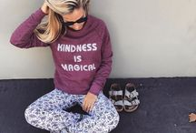 Salt + Pepper Instagram Feeling those fall vibes with the new Kindness Sweatshirt  #limitededition #kindnessismagical #saltandpeppersupply #california #fall #sweatshirt