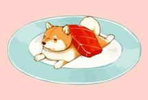 Dog&Food Art