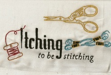 Embroidery & cross stitch / Everything that you can make with a needle.