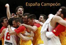 La Seleccion Española Baloncesto Campeona / Baloncesto