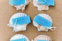 Name cards and favours