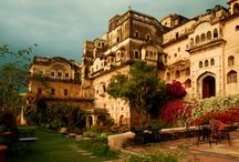 Neemrana Fort-Palace / Neemrana Fort-Palace, a 15th C. fort is located on the #Delhi-#Jaipur highway, 120 kms away from #Delhi. Now welcoming guests in the 21st C.