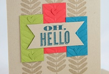 Oh Hello / by The Crafty Owl - Joanne James