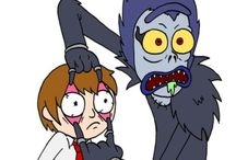Rick and Morty/Death Note!! ✌️✌️♥️♥️♥️♥️