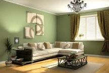 House decor / Its great to use innovative colours to renew and refresh your living enviroment
