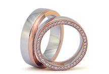 Argollas de matrimonio 5 / Hermosas argollas en oro y diamantes