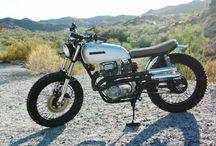 Tracker & Scrambler Motorbike Pics