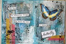 Art Journaling / Art journaling inspiration and favourite pages
