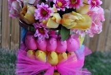Сладкие композиции с цветами