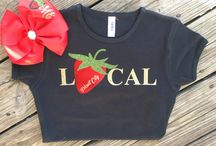 Festival shirts and bows