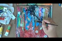 Art Journal Demonstrations