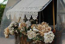 Glamp like Gypsies / The way camping should be done. www.GypsyRiverResort.com