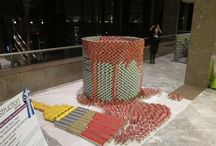 Canstruction / CANstruction is an international project that combines canned food and creativity to help fight hunger in communities nation- and world-wide. At each CANstruction event, businesses and organizations go head-to-head creating themed sculptures out of canned food. The sculptures are on display for several weeks, prizes are awarded, and the food is donated to local hunger organizations at the end of each event.