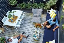 Small Spaces / Small Yards, Porches, Etc.  https://www.bearheartbottomsetc.com/