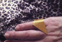 S.P.Art δαχτυλίδι σεβαλιε επίχρυσο. / Jewellery design.