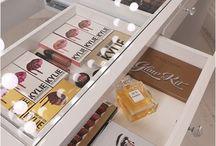 makeup storage and display ideas