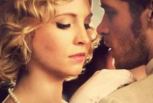 Klaus and Caroline / characters from The Vampire Diaries