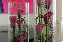 cilindru cu flori
