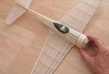 Modele drewniane