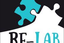 """RE-LAB / RE-LAB è un progetto promosso dal GUS Gruppo Umana Solidarietà """"Guido Puletti"""" e finanziato dalla Regione Marche ai sensi della L.R. 9/04, art.12 - Annualità 2013, finalizzato a promuovere il protagonismo sociale e la cittadinanza attiva dei giovani e adolescenti marchigiani in contrasto a devianza e marginalità."""