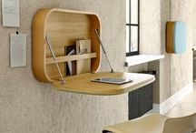 Wall-mounted desk / Wall-mounted desks in all shapes and sizes. But only ones we like...