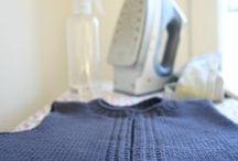 Knitting: Blocking