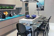 Interior de cozinha