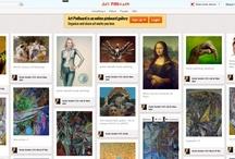 Pinterest Alternative / http://artpinboard.org