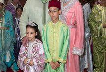 caftans / Het zijn mooie Marrokkaanse jurken