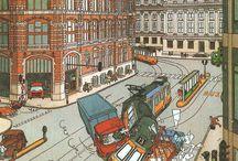 Theo van den Boogaard 1948, striptekenaar / strips