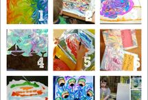 Art Play for Kids / Inspire your little artists with these fun ideas.  Check out Green Kid Crafts products on http://www.GreenKidCrafts.com / by Green Kid Crafts | Science and Crafts For Kids