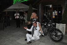 Biker's wedding