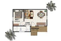 Cottage - Floor Plans