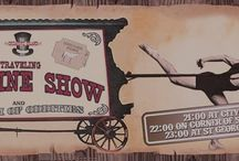 Traveling Show! / Old time traveling show information and images!