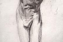 Studies sketches