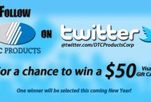 Metal Stamping Promotions / There is still time to follow us Twitter for a chance to CASH IN! Today's the last day - https://twitter.com/DTCProductsCorp #giveaway #happynewyear #manufacturing
