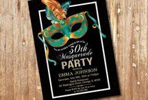 Masquerade Party Ideas / Masquerade Birthday Ideas