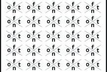 pattern / pattern del font antique olive bold