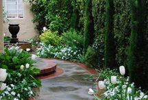 Borders Bridges Pathways Porches & Rockeries / .... with the occasional stairs & small water features & balconies / by Queen Jenevere