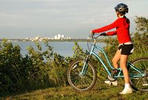 Biking / With 135 miles of paved trails, there's plenty to keep your spokes spinning. Zip through wooded trails in search of moose, or swap pavement for path on a mountain bike trip. Whatever you fancy, this city is geared for bicycles!