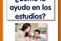 cómo ayudar a los hijos en el estudio