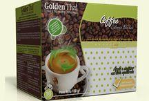 Golden Thai Coffee Packaging Café y Té / Originales Packaging para café y té