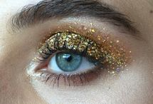 Makeup lookbook GLITTER
