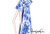 Fashion Designers Illustrations